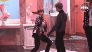 Video [BANGTAN BOMB] Jimin's best dance imitation by Jung Kook - BTS (방탄소년단) download MP3, 3GP, MP4, WEBM, AVI, FLV Agustus 2018