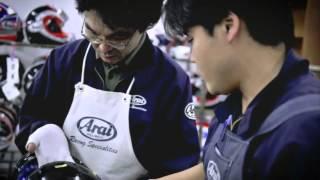 История ARAI 2011(История фирмы Arai от создания до наших дней. Почему шлемы делают в ручную, и почему у Arai есть специальный..., 2012-09-23T17:53:38.000Z)
