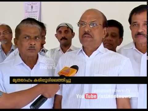 Central Government showing disrespect to E Ahamed says P. K. Kunhalikutty