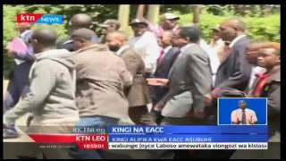 KTN Leo: Gavana wa Kilifi Amason Kingi ajiwasilisha mbele ya kamati ya EACC, 28/11/16