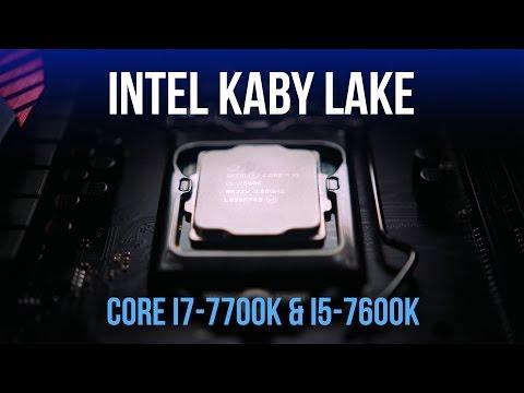 Kaby Lake Arrives - i7-7700K & i5-7600K Benchmarked & Overclocked!