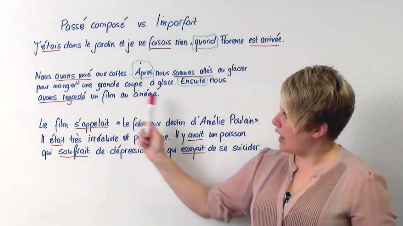 Imparfait oder passé composé - Übung mit Lösung und Signalwörter ...