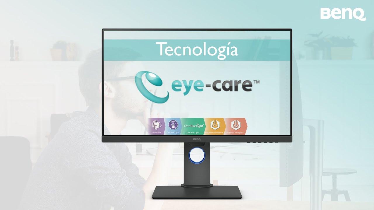 Tecnología Eye-care para Monitores profesionales | Eye-care de BenQ -  YouTube