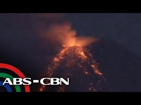 WATCH: Mayon Volcano spews ash, lava