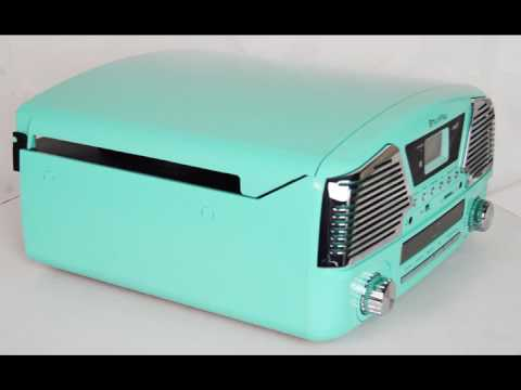Turntable 3 SPEED TECHPLAY ODC35 TURQUOISE