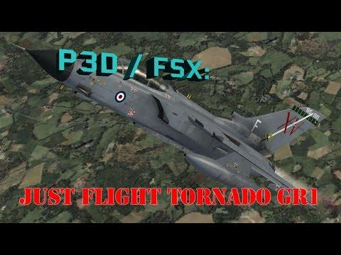 P3D / FSX Review - Just Flight Tornado IDS / GR1