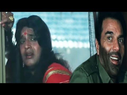 Mithun Chakraborty as a woman - Hum Se Na Takrana Comedy Scene