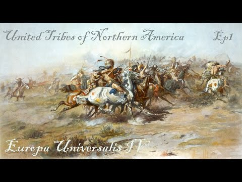 Let's Play Europa Universalis IV The United Tribes of Northern America Ep1