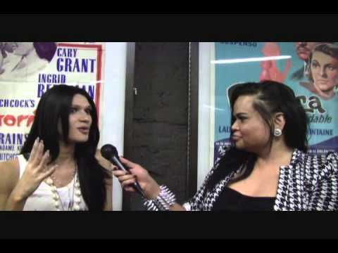 Nomi Ruiz Interview at Turning film Premiere - IFC -NYC