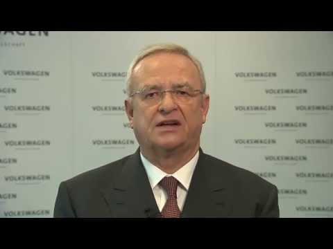Video-Statement von Prof. Dr. Martin Winterkorn, Vorstandsvorsitzender der Volkswagen AG