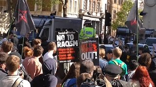 London Protest - Anti-Tory protesters May 2015