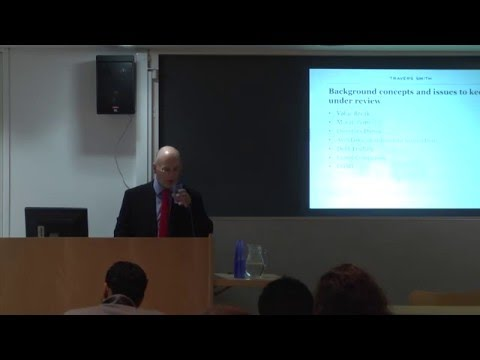 'UK Debt Restructuring Techniques' - Jeremy Walsh: 3CL Travers Smith Seminar