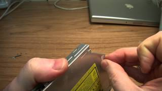 DIY How to fix an Apple slot loading CD DVD drive