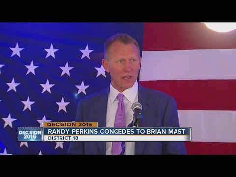 Democrat Randy Perkins concedes District 18 race to Brian Mast