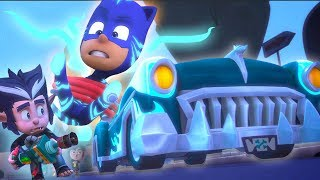 PJ Masks Episode 🔷 Wolfie Kids' NEW CAR 🔷 Vehicles Special | Cartoons for Kids