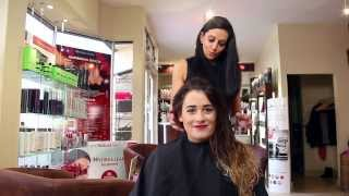 Detangling wet or dry hair without tugs or pulls with Tangle Teezer at simplymytime.com Thumbnail