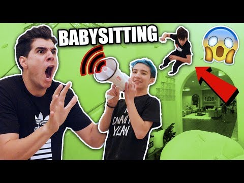 MY FIRST TIME BABYSITTING! (BAD IDEA) **GONE WRONG**