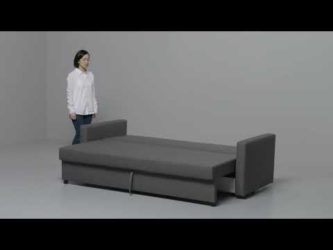 Ikea Friheten Convertible 3 Places Youtube