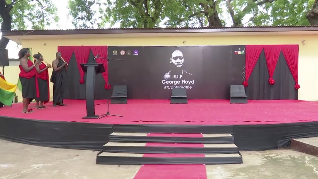 Ghana holds memorial service in honor of George Floyd