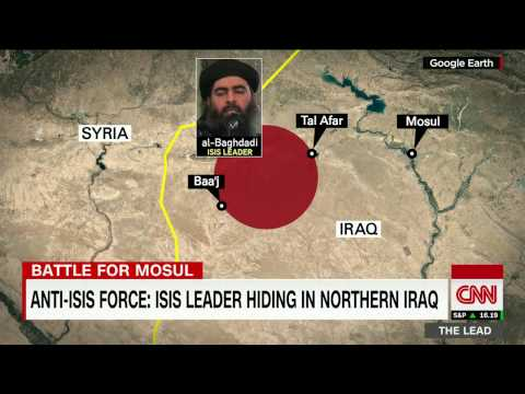 ISIS leader believed to be hiding in northern Iraq