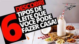 DESCOBRI 6 TIPOS DE LEITE QUE VOCÊ PODE FAZER EM CASA! | Dr Dayan Siebra