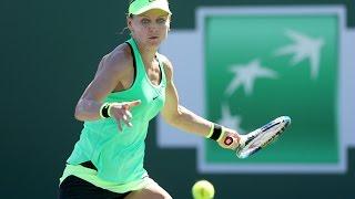 2017 BNP Paribas Open Second Round | Lucie Safarova vs CoCo Vandeweghe | WTA Highlights