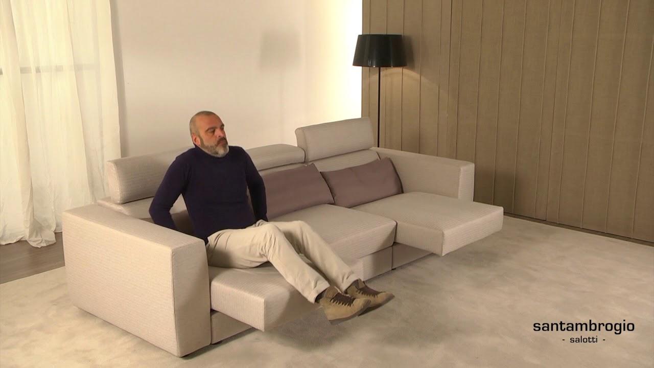 Poltrone E Sofa Divani Relax.Divano Relax Divano Con Sedute Allungabili Reclining Sofa Relax