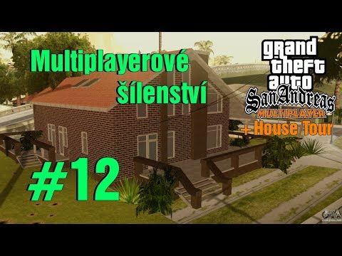 SOUSEDKA KIKUSH! (GTA San Andreas Multiplayer #12)