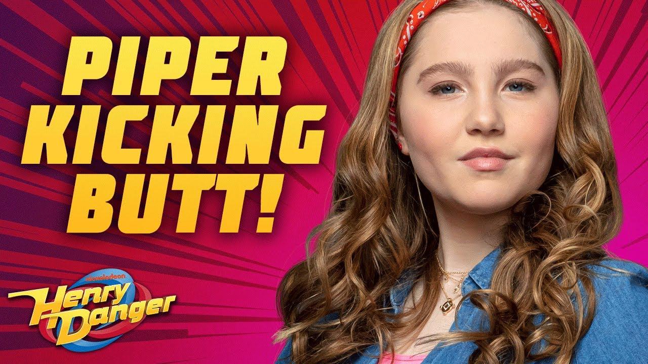 Piper Hart Kicking Butt! | Henry Danger