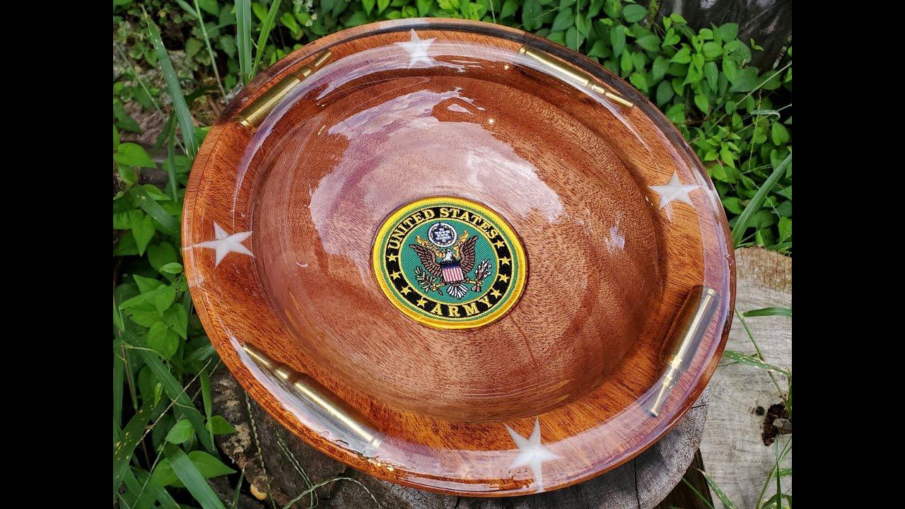 Army Memorial Platter