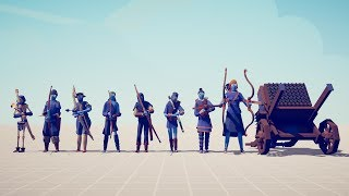 ABSOLUTELY ALL ARCHERS vs 10x EVERY UNIT - Totally Accurate Battle Simulator TABS