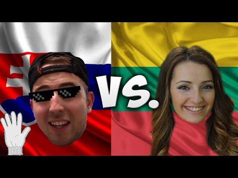 LANGUAGE CHALLENGE: SLOVAKIA VS. LITHUANIA /W DOVILE