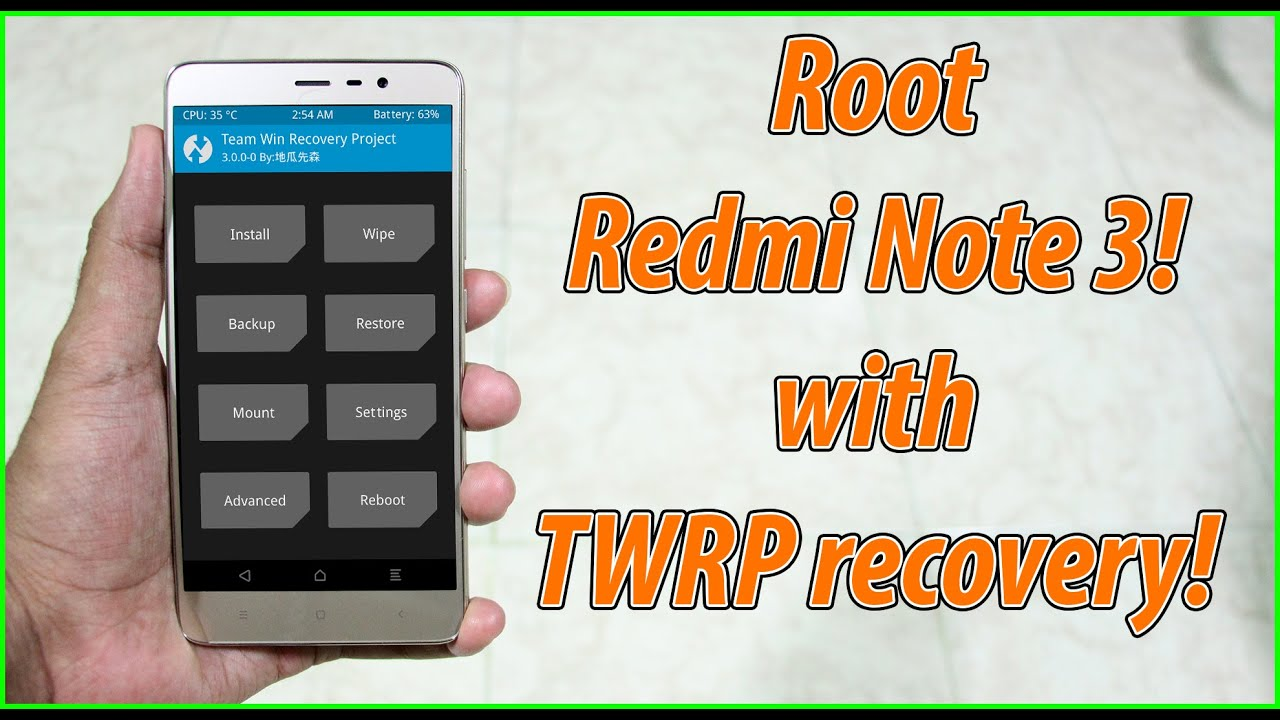 how to root redmi note 3 without PC - <ata:blog title></ata