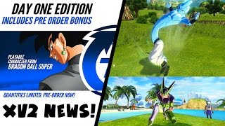 Dragon Ball Xenoverse 2 News: Goku Black Preorder Bonus, Majin Race Transformation Confirmed & MORE!