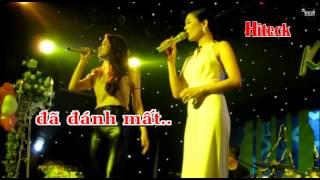 [Karaoke HD] VÌ ANH ĐÁNH MẤT - HỒ NGỌC HÀ & LỆ QUYÊN