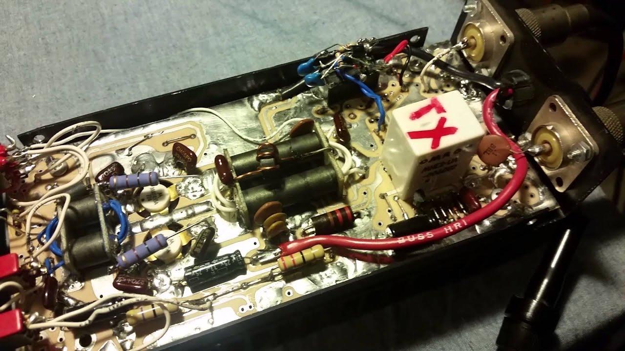 Hooker 100, 100 Bilinear & Stacomm Amplifier Repairs 1 of 2