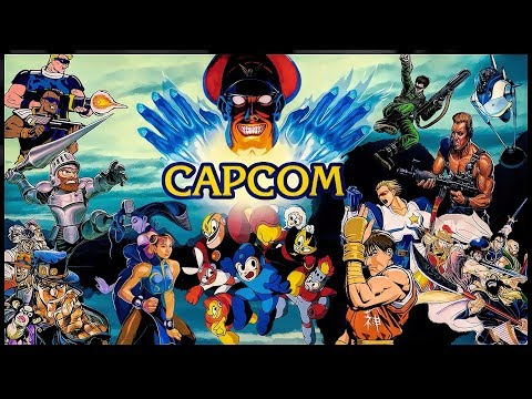 Best CAPCOM Arcade Games || TR Old School Gamer Collection