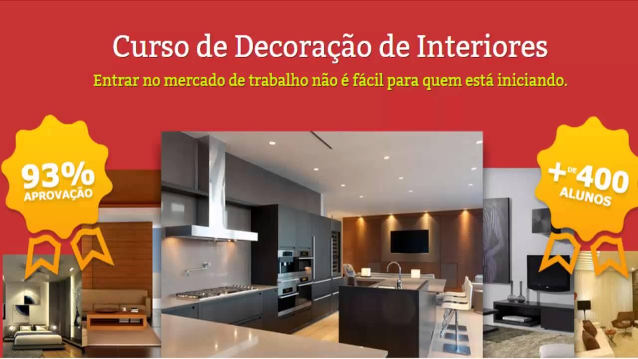 Curso de decora o de interiores curso online de for Curso diseno interiores online