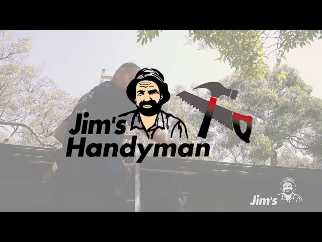 Gutter cleaning tips with Tim from Jim's Handyman - www.jims.net - 131 546