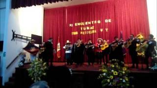 """""""Las cintas de mi capa""""-Tuna de la Universidad Nacional de Cajamarca"""