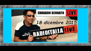 Edoardo Bennato - RadioItalia Live - 18 dicembre 2015.