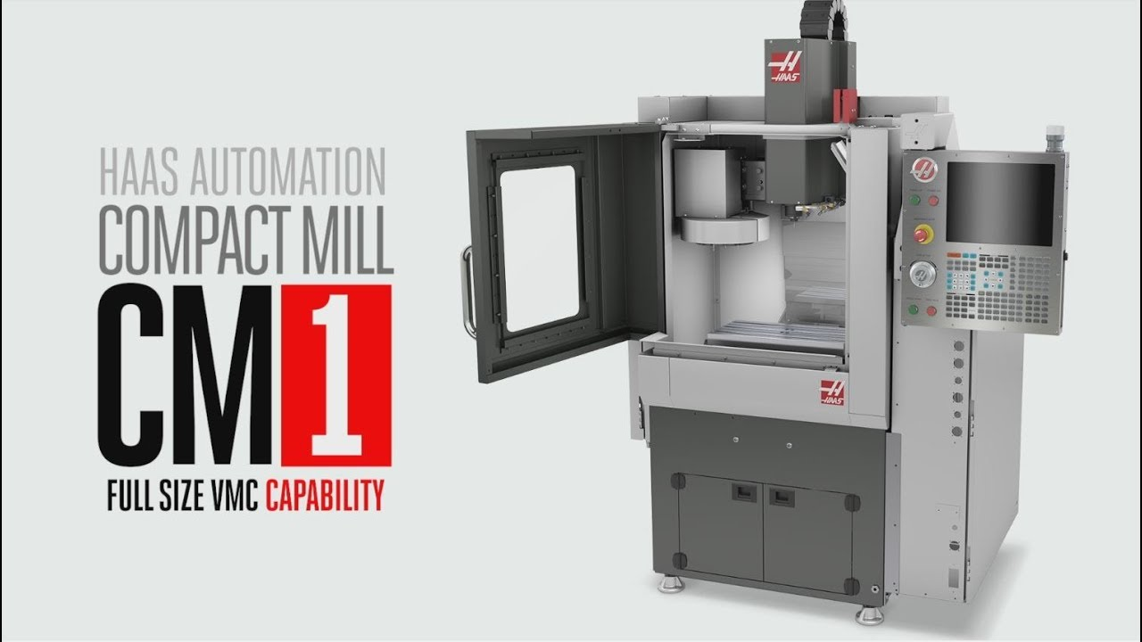 Haas Cm 1 Compact Mill And Trt70 Rotary Automation Inc