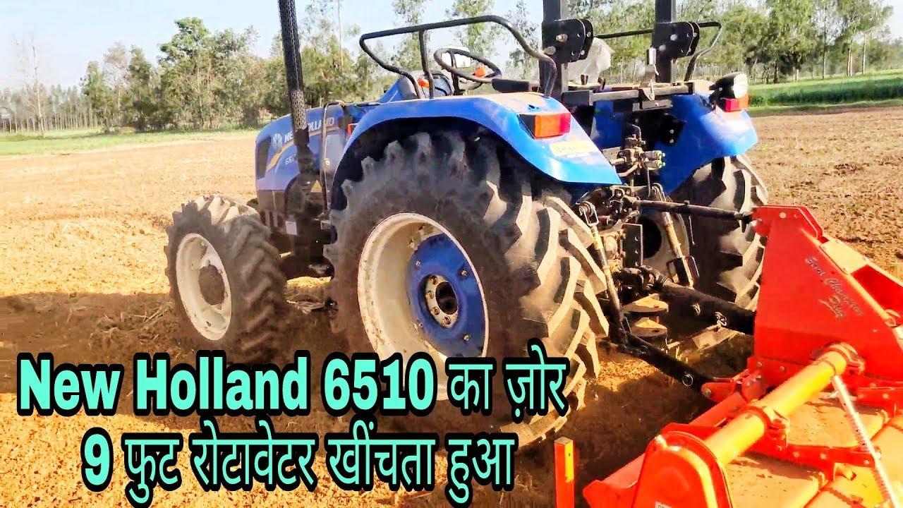 New Holland 6510 4x Feet Rotavator Fully Loaded