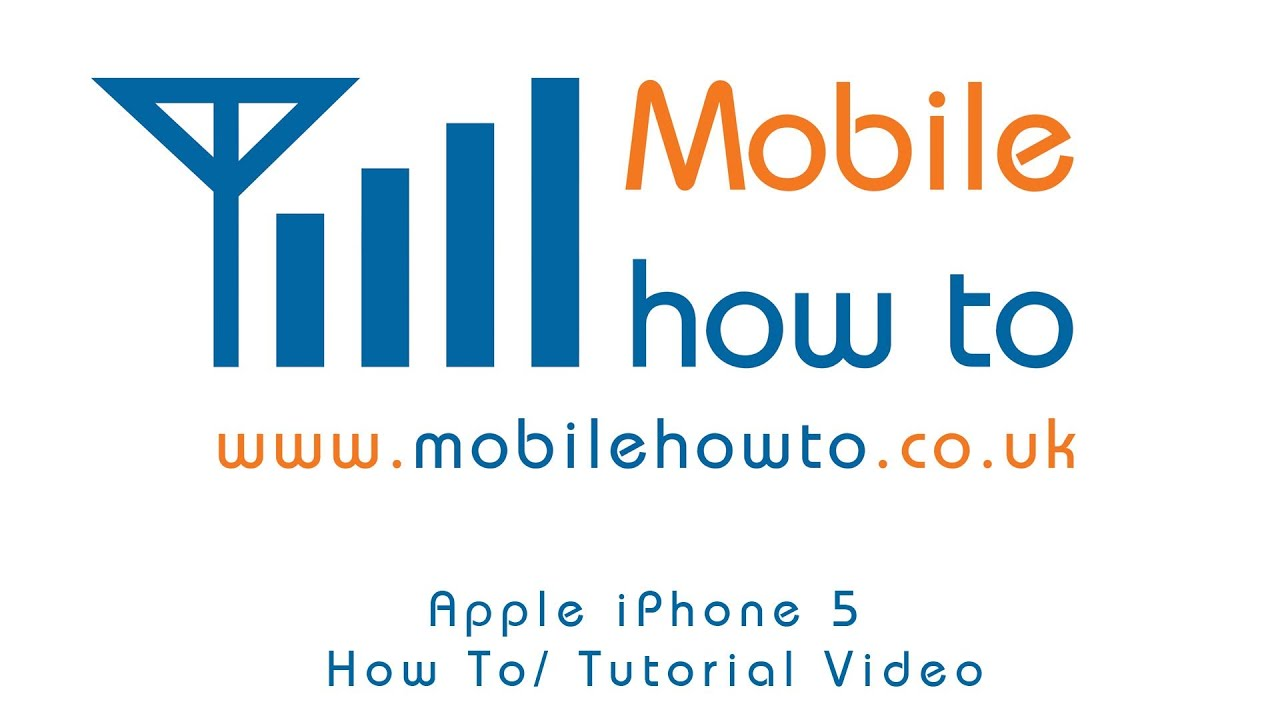 youtube how to use iphone 5