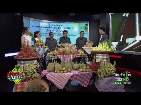 ย้อนหลัง งานมหกรรมผลไม้และของดีเมืองยะลา ประจำปี 2556   18-08-60   ตะลอนข่าวเช้านี้