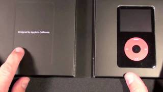Apple iPod U2 Special Edition (5th Gen): Unboxing