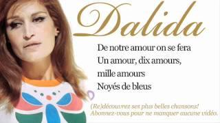 Dalida - Les enfants du Pirée - Paroles (Lyrics)