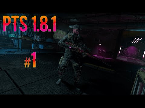 Tom Clancy's The Division | PTS 1.8.1 #1 |