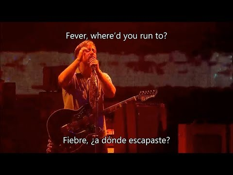 The black keys - Fever | Live + lyrics | (Subtitulado en español/ingles)
