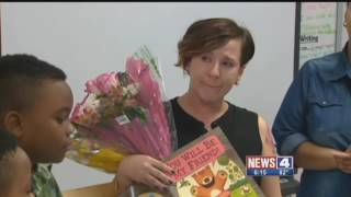 Surprise Squad: Surprise For A Teacher Who Had Big Impact On 2 Students